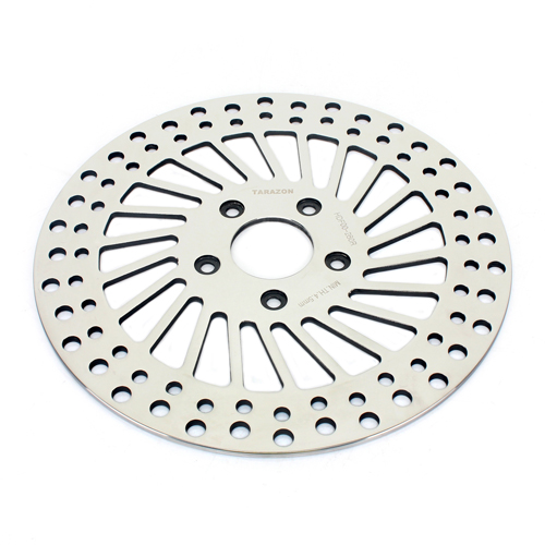 "11.5/"" Polished Rear Brake Disc Rotor for Harley Touring 1450 Electra Glide 00-06"