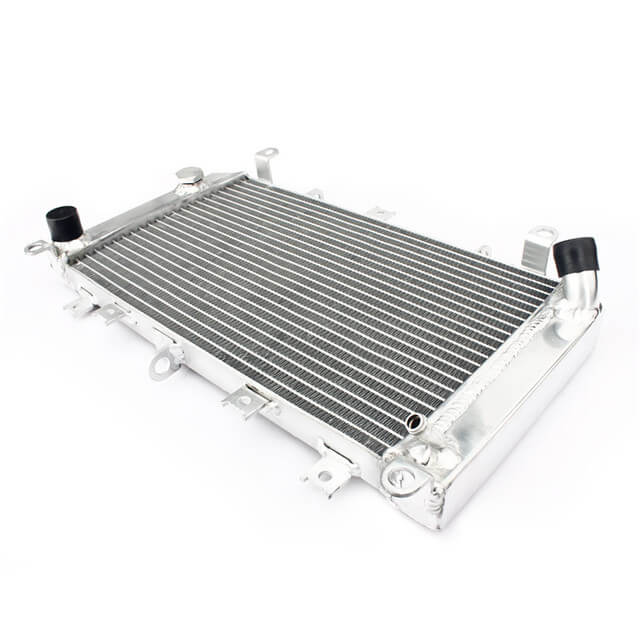 Motocross Bike Motorcycle Aluminum Radiator For Kawasaki