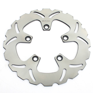 Heat Treatment Stainless Steel Motorcycle Solid Brake Disc