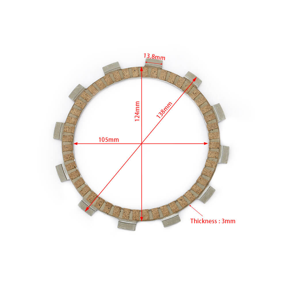 Wholesale Paper Based ATV Clutch Disc for Honda