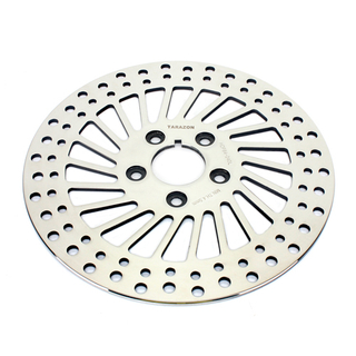 Best Round Polishing Motorcycle Front Disc Brake For Harley