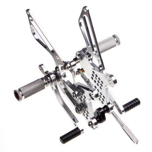 Billet Anodized Motorcycle Racing Rearsets For Sale