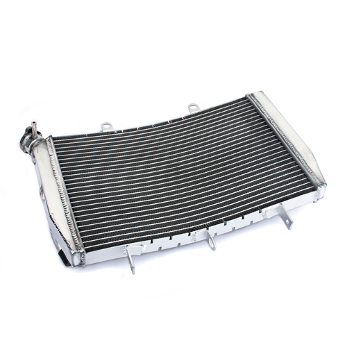 Brazing Aluminum Curved Motorcycle Radiator