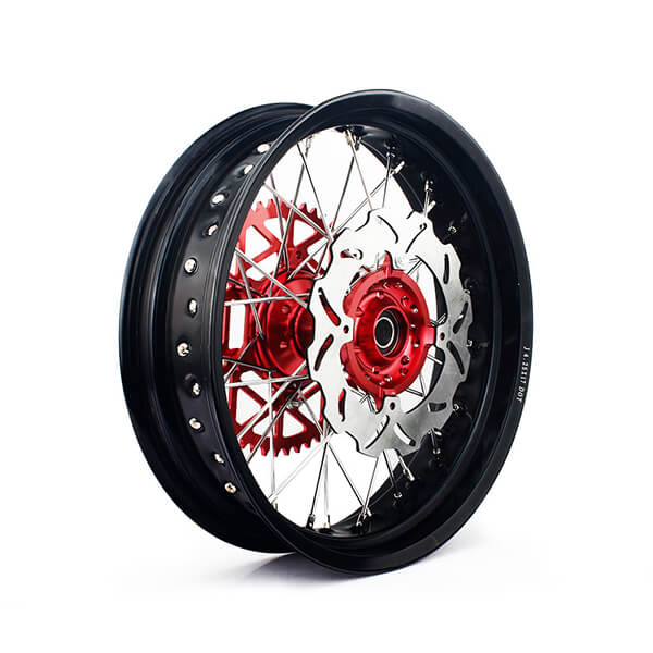Custom 17 Inch Motorcycle Wheel Sets for Supermoto
