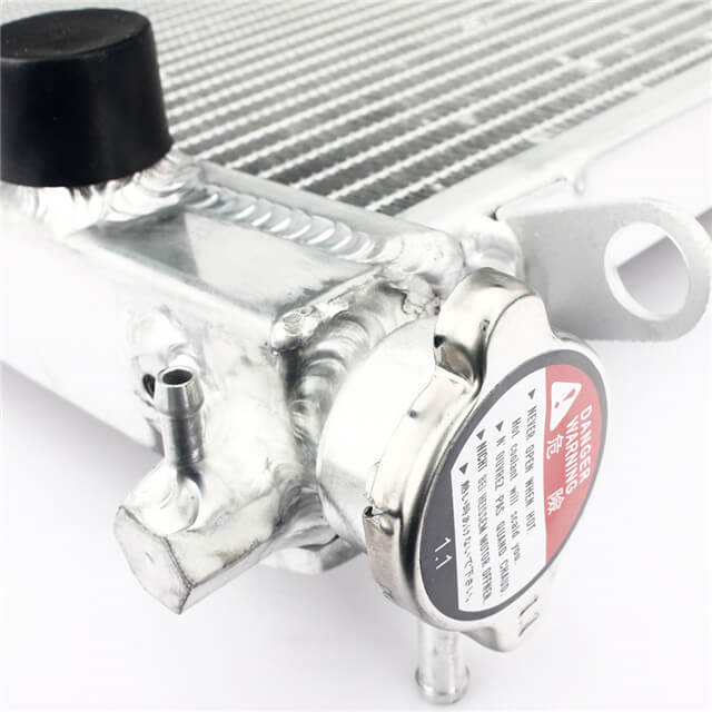 Aftermarket Better Than OEM Motorcycle Aluminum Water Cooling Radiators for Sale