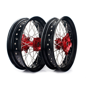 17 Inch Aluminum Alloy Motorcycle Dirt Bike Wheel Set for Honda XR650