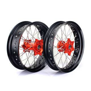Aluminum Motocross Wheel Set for Supermoto